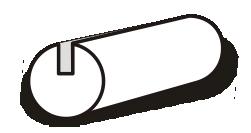 szkic lamówki atłasowe dwustronnie zaprasowanej 8 mm