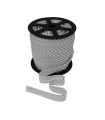Lamówka bawełniana paski zaprasowana dwustronnie 18 mm duża szpulka 70 mb
